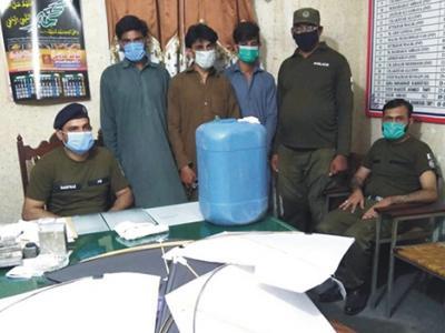 اٹک پولیس کی مختلف کارروائیاں، 8 ملزمان گرفتار