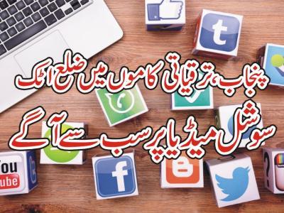 پنجاب ،ترقیاتی کاموں میں ضلع اٹک سوشل میڈیا پر سب سے آگے