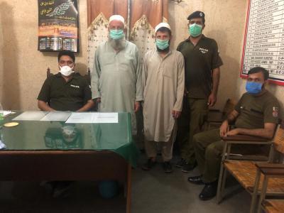 فتح جنگ ،قتل کے مقدمہ میں مطلوب 2اشتہاری گرفتار